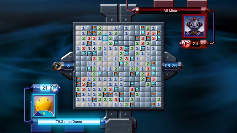 multiplayer minesweeper flags