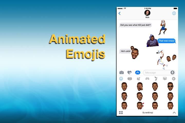 Fans Kevin Durant Wajib Download Emoji Ini!